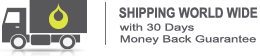 Free US Shipping with $30 Purchase and Money Back Guarantee.